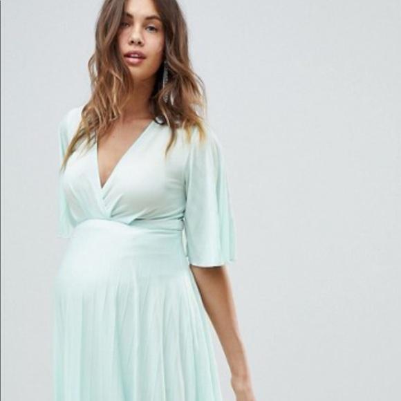 497f8ee8f80fa Asos Maternity Dresses | Mint Maternity Kimono Dress | Poshmark